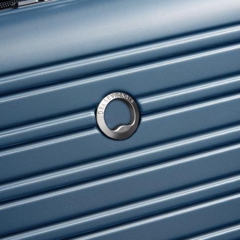 چمدان-دلسی-مدل-segur-آبی-205882202-نمای-لوگو-دلسی
