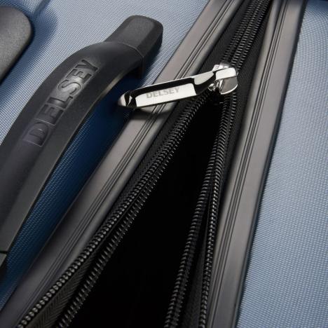 چمدان-دلسی-مدل-segur-آبی-205883002-نمای-زیپ-باز-شده