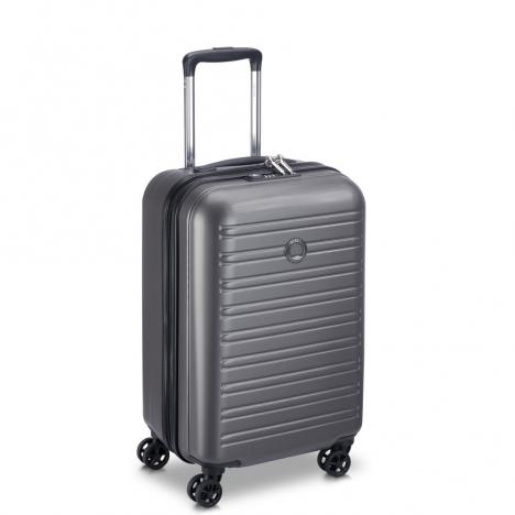 چمدان-دلسی-مدل-segur-خاکستری-205880411-نمای-سه-رخ