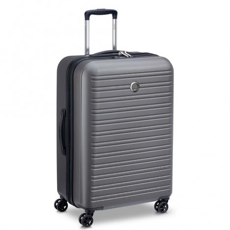 چمدان-دلسی-مدل-segur-خاکستری-205882211-نمای-سه-رخ