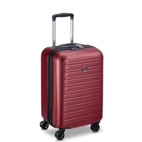 چمدان-دلسی-مدل-segur-قرمز-205880404-نمای-سه-رخ