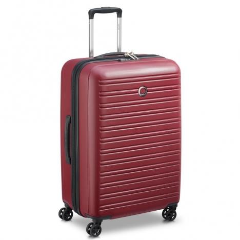 چمدان-دلسی-مدل-segur-قرمز-205882204-نمای-سه-رخ
