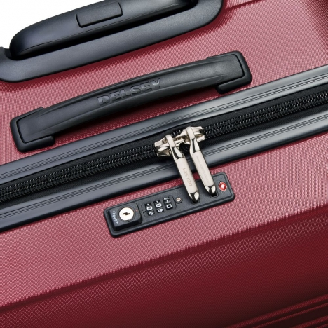 چمدان-دلسی-مدل-segur-قرمز-205882204-نمای-زیپ