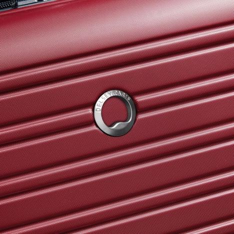 چمدان-دلسی-مدل-segur-قرمز-205883004-نمای-لوگو-دلسی