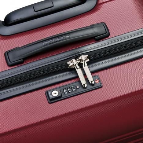 چمدان-دلسی-مدل-segur-قرمز-205883004-نمای-زیپ