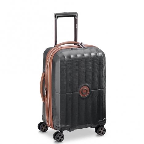 چمدان-دلسی-مدل-st-tropez-مشکی-208780100-نمای-سه-رخ