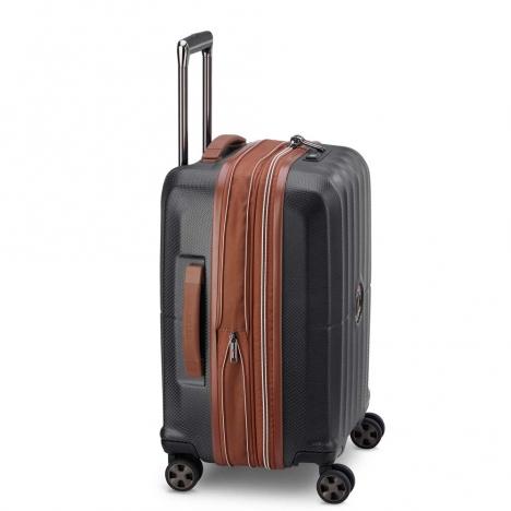 چمدان-دلسی-مدل-st-tropez-مشکی-208780100-نمای-کناری