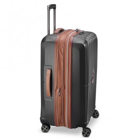 چمدان-دلسی-مدل-st-tropez-مشکی-208783000-نمای-کناری