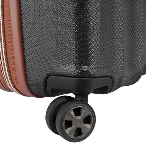 چمدان-دلسی-مدل-st-tropez-مشکی-208783000-نمای-چرخ