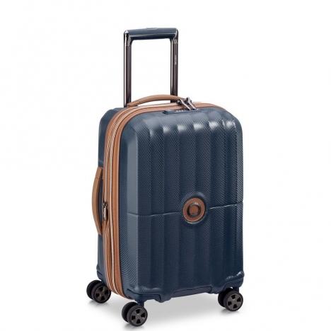 چمدان-دلسی-مدل-st-tropez-آبی-208780102-نمای-سه-رخ