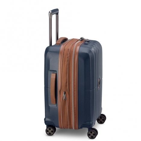 چمدان-دلسی-مدل-st-tropez-آبی-208780102-نمای-کناری