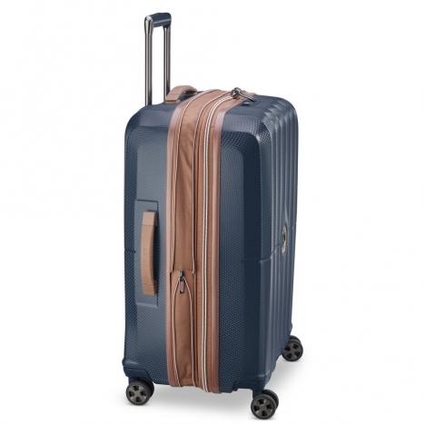 چمدان-دلسی-مدل-st-tropez-آبی-208782002-نمای-کناری
