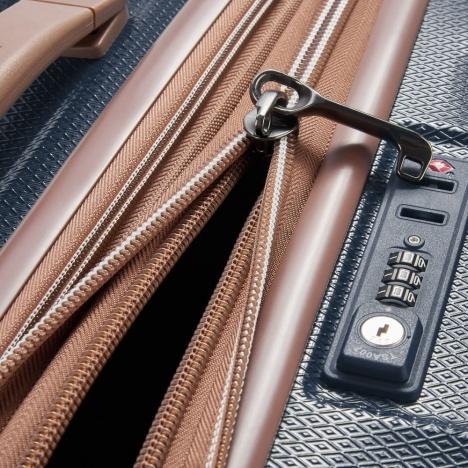 چمدان-دلسی-مدل-st-tropez-آبی-208783002-نمای-زیپ-باز