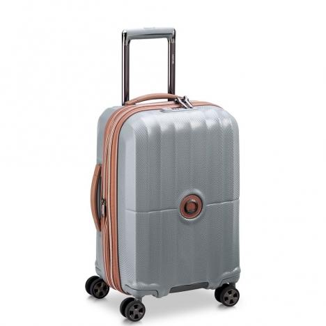 چمدان-دلسی-مدل-st-tropez-خاکستری-208780111-نمای-سه-رخ