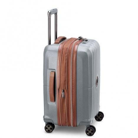 چمدان-دلسی-مدل-st-tropez-خاکستری-208780111-نمای-کناری
