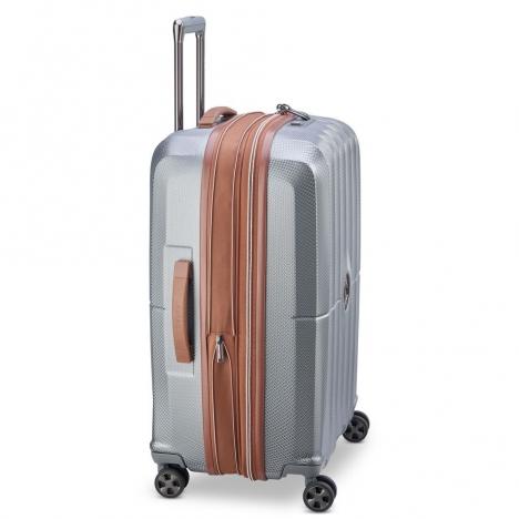 چمدان-دلسی-مدل-st-tropez-خاکستری-208783011-نمای-کناری