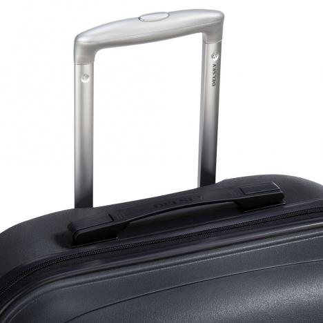 چمدان-دلسی-مدل-تاسمان-310080100-مشکی-نمای-دسته