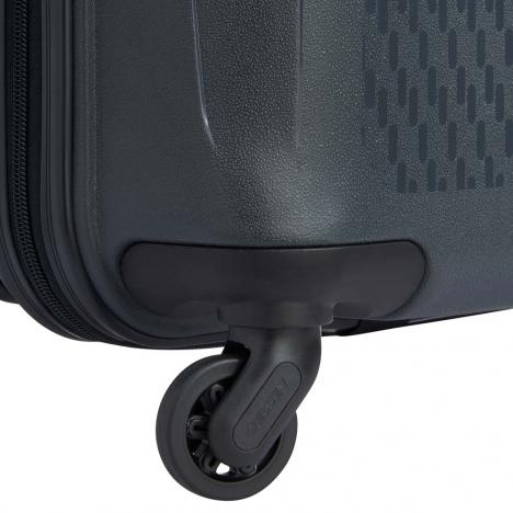 چمدان-دلسی-مدل-TASMAN-k-نوک-مدادی-310080101-نمای-چرخ-های-بی-صدا