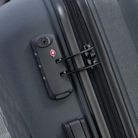 چمدان-دلسی-مدل-TASMAN-k-نوک-مدادی-310080101-نمای-زیپ