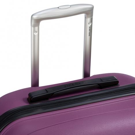 چمدان-دلسی-مدل-تاسمان-بنفش-310080108-نمای-دسته-چمدان