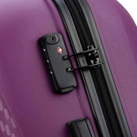 چمدان-دلسی-مدل-تاسمان-بنفش-310080108-نمای-زیپ
