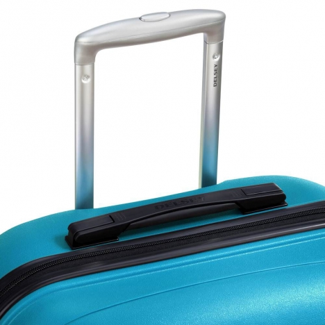 چمدان-دلسی-مدل-TASMAN-آبی-310080112-نمای-دسته-چمدان