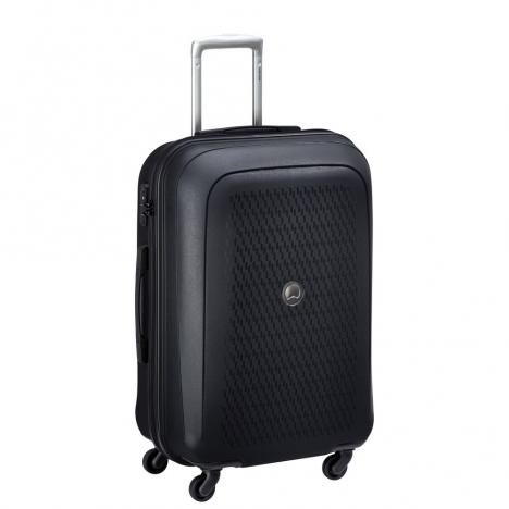 چمدان-دلسی-مدل-تاسمان-مشکی-310081100-نمای-سه-رخ