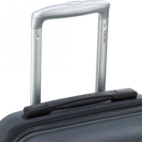 چمدان-دلسی-مدل- TASMAN-مشکی-310081101-نمای-دسته-چمدان
