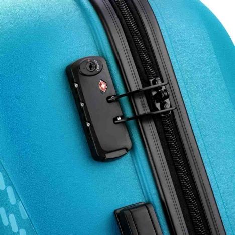 چمدان-دلسی-مدل-TASMAN-آبی-310081112-نمای-زیپ