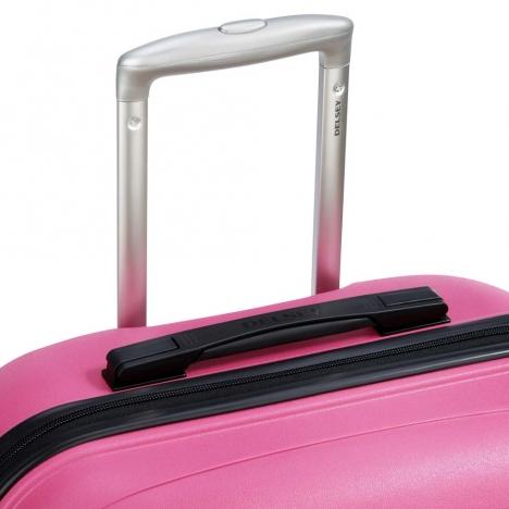 چمدان-دلسی-مدل-تاسمان-صورتی-310082109-نمای-دسته-چمدان