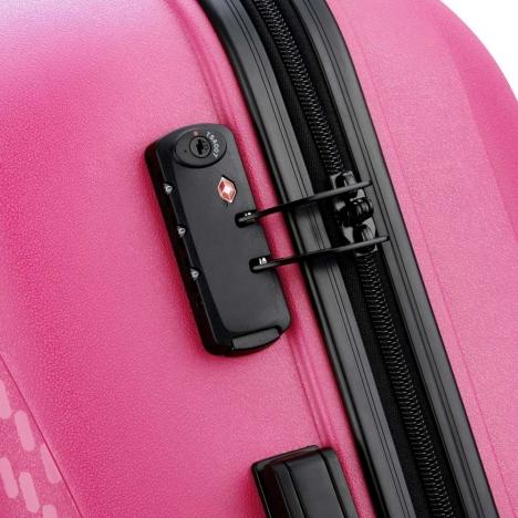 چمدان-دلسی-مدل-تاسمان-صورتی-310082109-نمای-زیپ