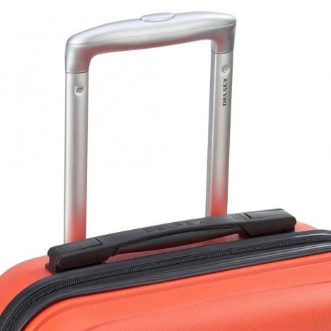 چمدان-دلسی-مدل-TASMAN-نارنجی-310082125- نمای-دسته-چمدان