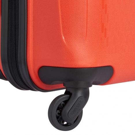 چمدان-دلسی-مدل-TASMAN-نارنجی-310082125- نمای-چرخ-های-بی-صدا