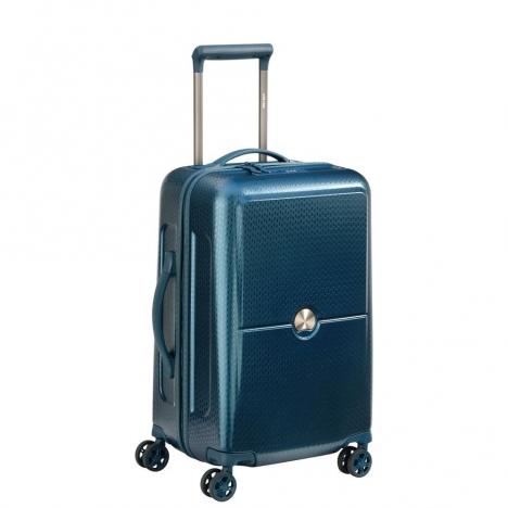 چمدان-دلسی-مدل- turenne-آبی-162180102-نمای-سه-رخ