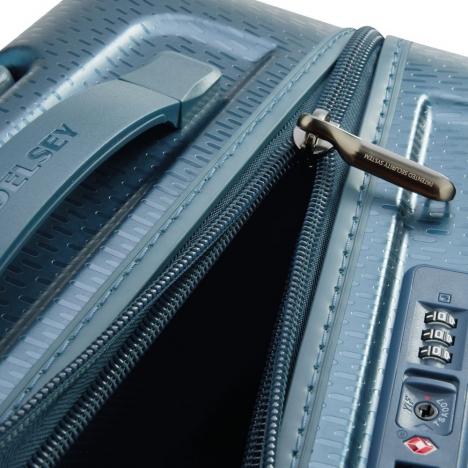 چمدان-دلسی-مدل-turenne-آبی-162182102-نمای-زیپ-باز-شده