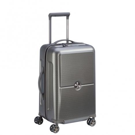 چمدان-دلسی-مدل-turenne-خاکستری-162180111-نمای-سه-رخ