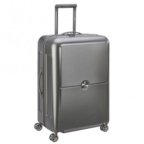 چمدان-دلسی-مدل-turenne-خاکستری-162182011-نمای-سه-رخ