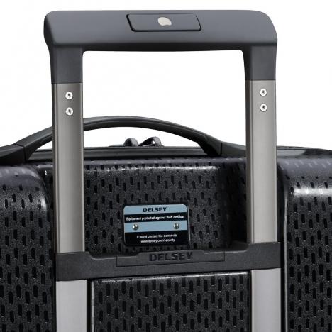 چمدان-دلسی-turenne-مشکی-نمای-پشت