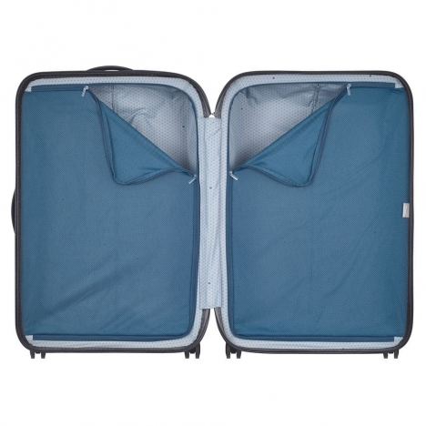چمدان-دلسی-turenne-مشکی-نمای-داخلی