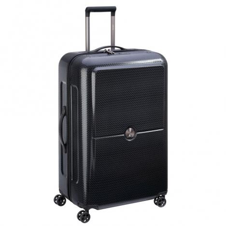 چمدان-دلسی-turenne-مشکی-نمای-کناری