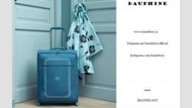 تست چمدان دافین دلسی