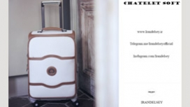 چمدان دلسی مدل چاتلت سافت پلاس