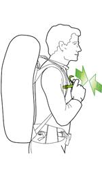 بند سینه کوله پشتی