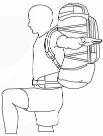 تنظیم کامل کوله پشتی
